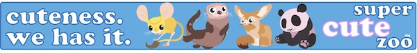 banner advertising for super cute zoo